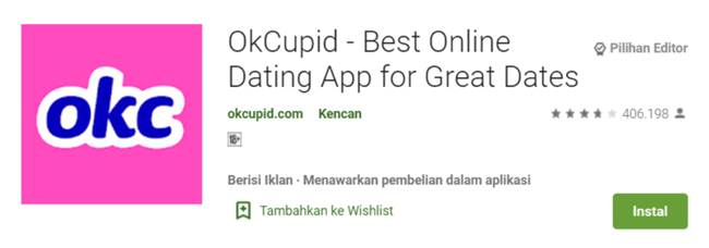 OkCupid – Best online dating app for great date